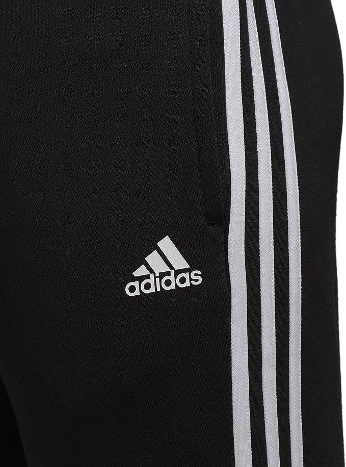Superioridad cuestionario Lanzamiento  Amazon.com : adidas Men Pants Running Essential 3 Stripes Fashion Training  Gym Black BK7446 : Clothing