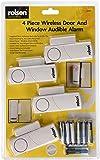 Rolson 66845 Wireless Door and Window Audible Alarm - 4 Pieces