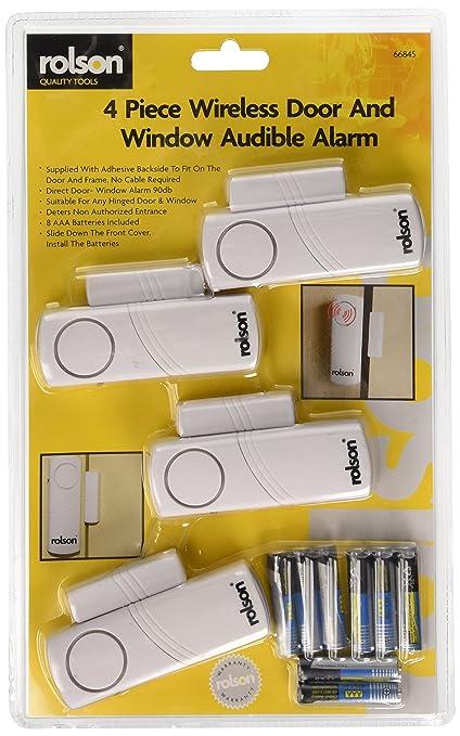 77 opinioni per Rolson 66845- Allarme per porta e finestre, 4 pezzi