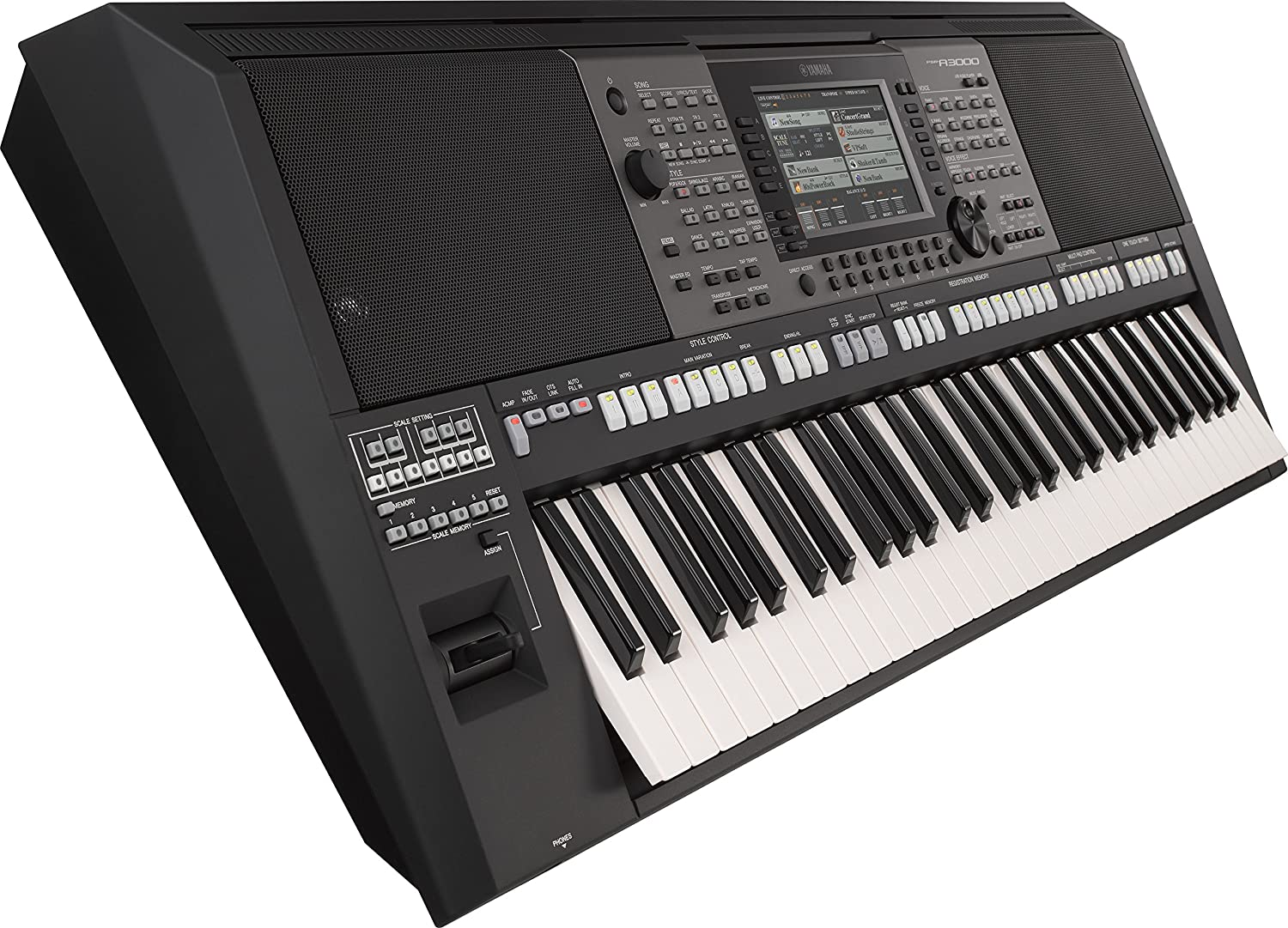 Yamaha Psr A3000 61 Key World Arranger Workstation S970 Musical Instruments
