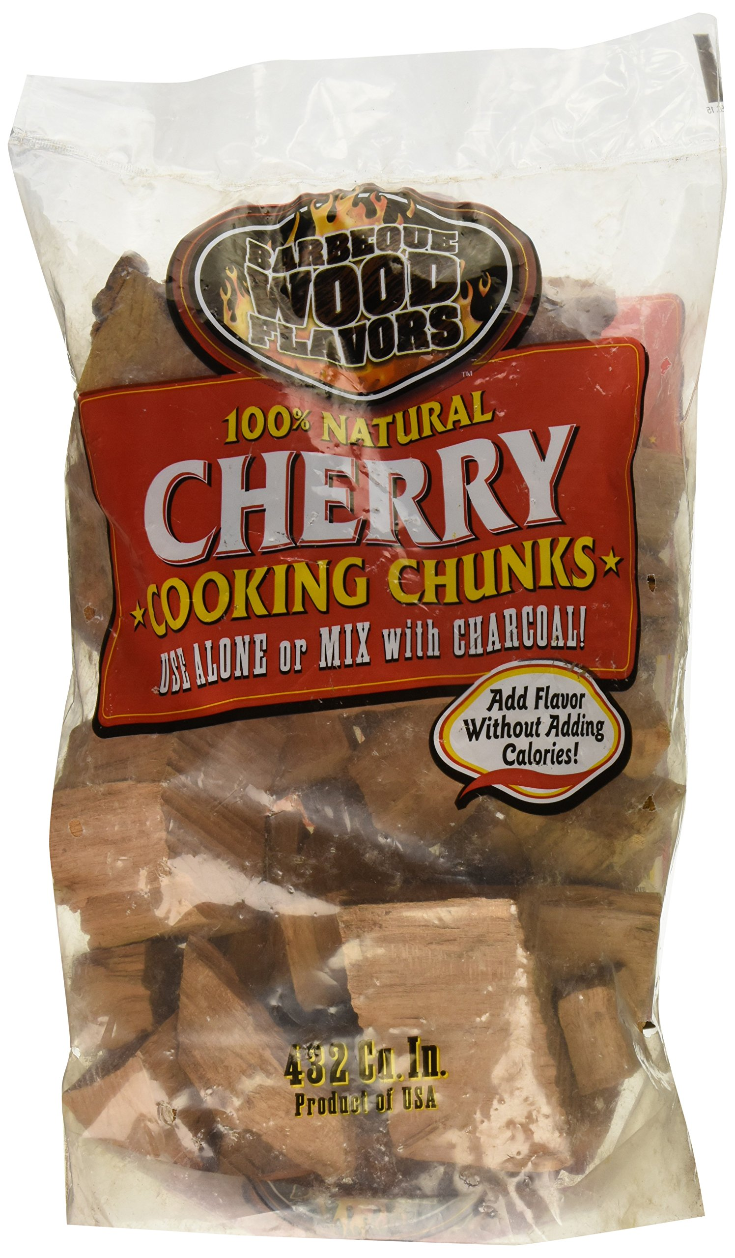 BWF Enterprises 10180 Barbeque Wood Chunks, 6 lb, Cherry