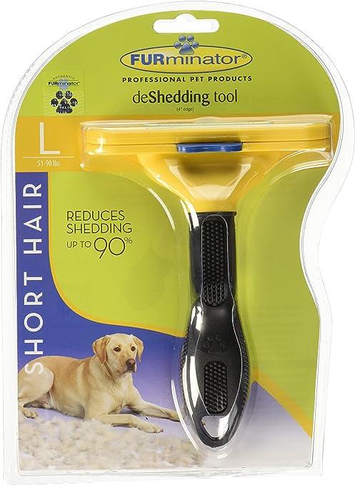 Amazon Com Furminator Deshedding Tool For Dogs Short Medium Or Long Hair 101007 Pet Supplies