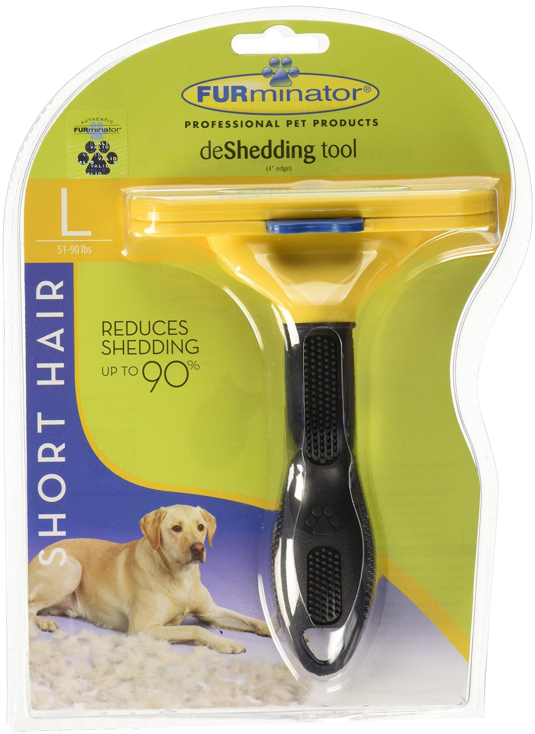 Furminator Shorthair deShedding Tool for Large Dogs