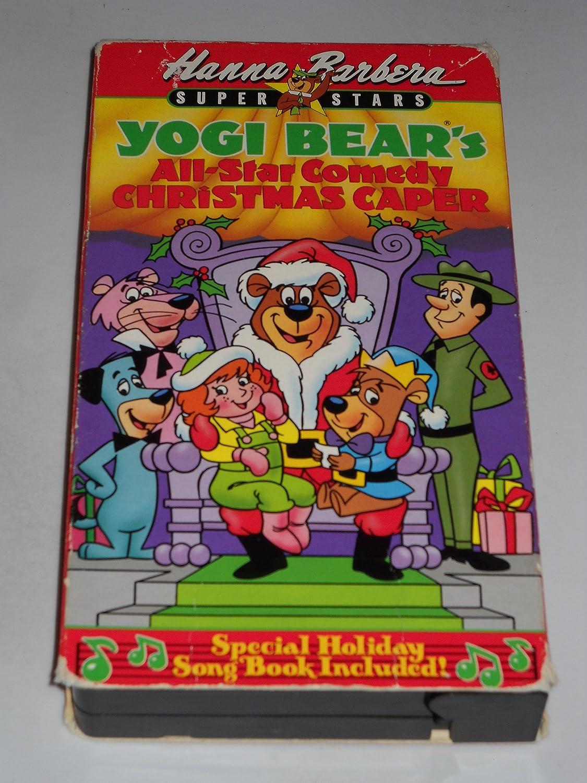 Yogi Bears All Star Comedy Christmas Caper.Amazon Com Yogi Bear S All Star Comedy Christmas Caper Vhs