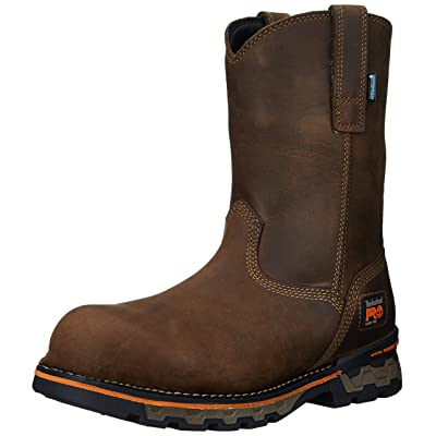 Timberland PRO Men's AG Boss Pull-On Alloy-Toe Waterproof Work and Hunt Boot: Shoes