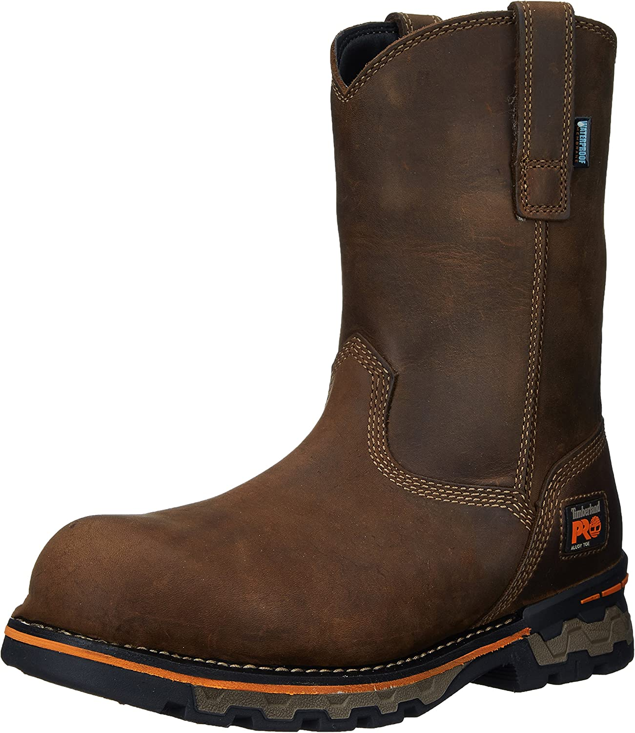 Timberland PRO Men's AG Boss Pull-On Alloy-Toe Waterproof Work and Hunt Boot