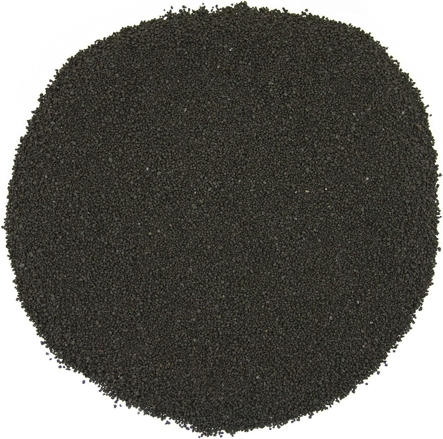 Koyal Wholesale Centerpiece Vase Filler Decorative Sand, 4.5-Pound, Black