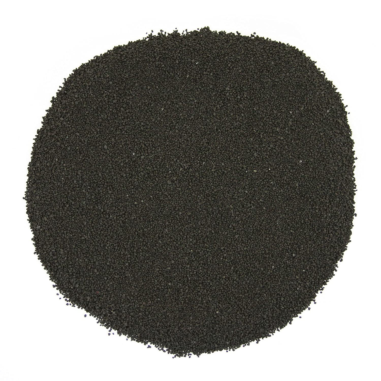 Koyal Wholesale Centerpiece Vase Filler Decorative Sand, 1.3-Pound, Black 424234
