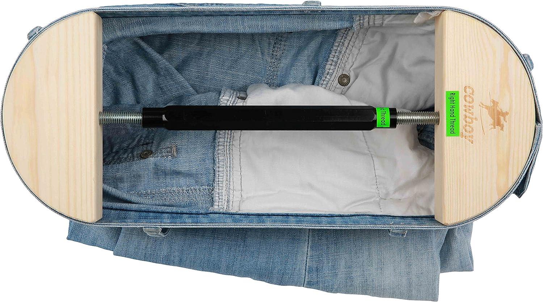 "Cowboy Pant Stretcher-Heavy Duty-Easy to Use-Instant Stretch-30 to 59"" Stretch Range"