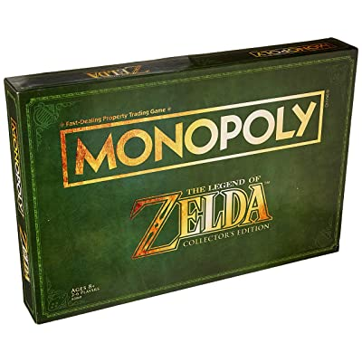 Monopoly Legend of Zelda Collectors Edition Board Game Ages 8 & Up ( Exclusive): Toys & Games