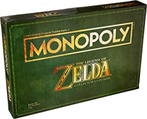 Monopoly Legend of Zelda Collectors Edition Board Game Ages 8 & Up (Amazon Exclusive)