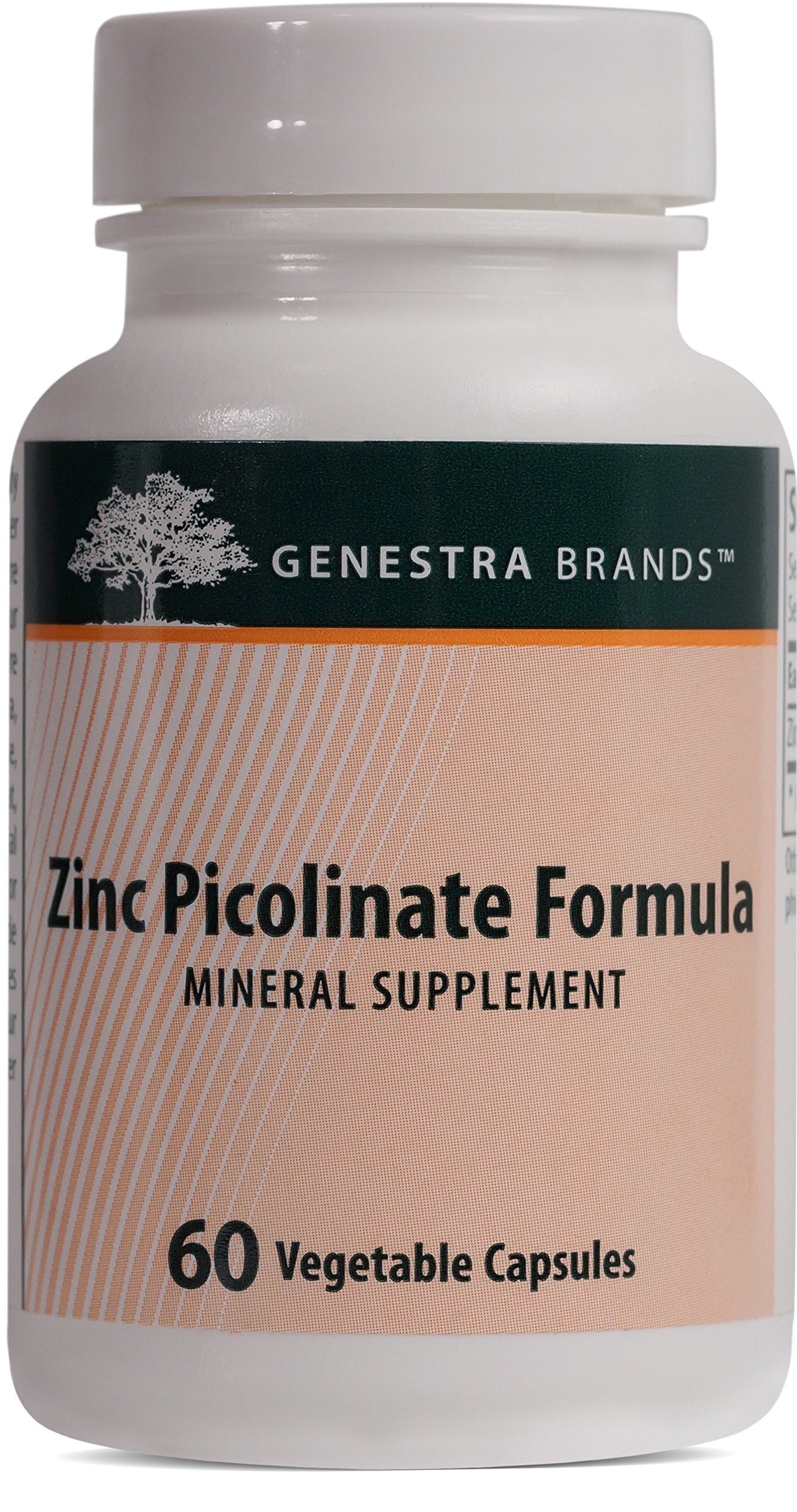 Genestra Brands - Zinc Picolinate Formula - Supports Immunity, Skin, and Connective Tissue Formation* - 60 Vegetable Capsules