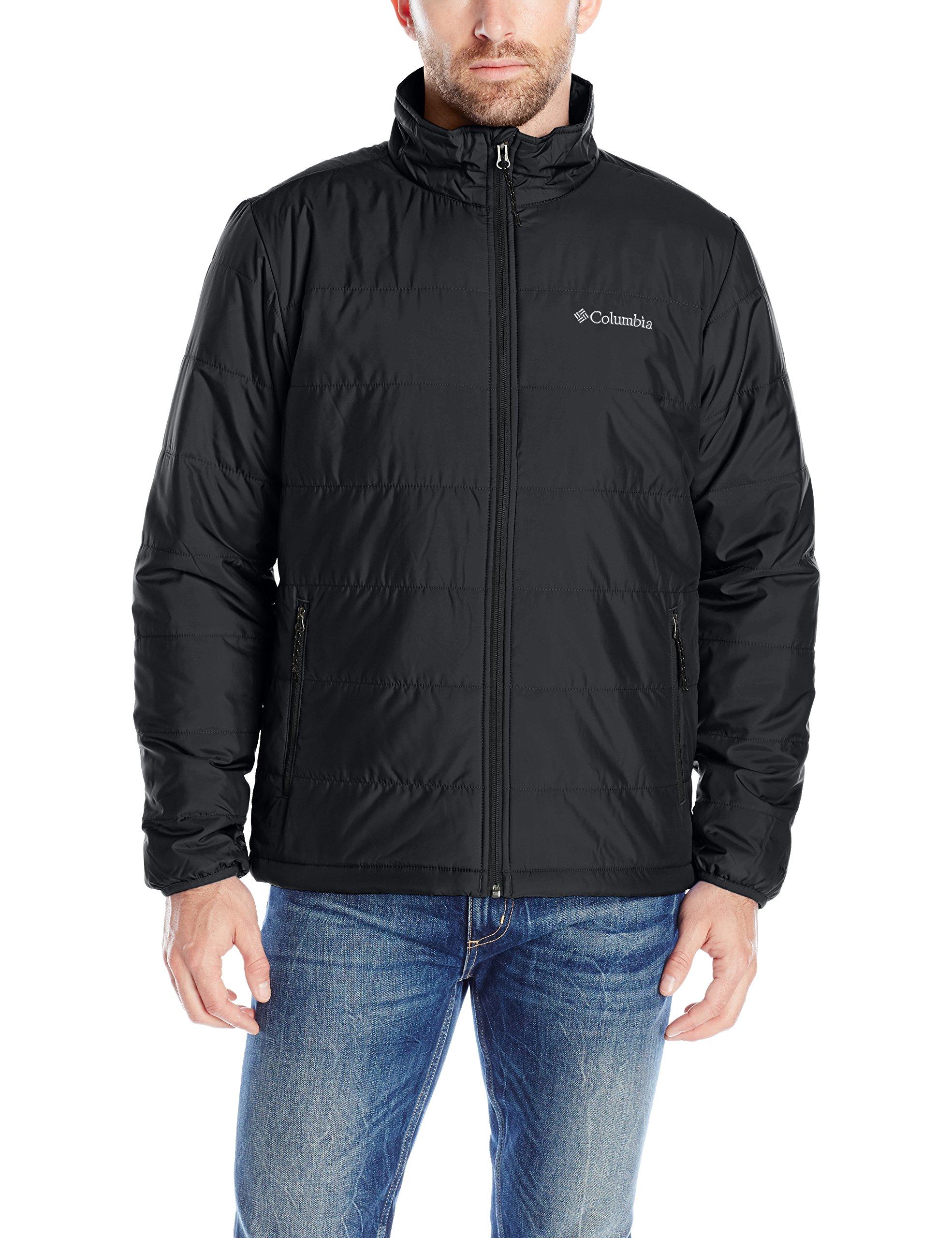 Columbia Men's Saddle Chutes Jacket, Black, X-Large by Columbia