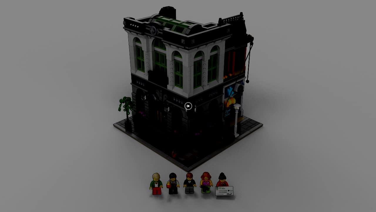 Lego Creator Expert Brick Bank 10251 Construction Set 8vsml0308563