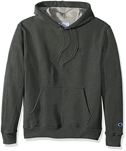 Champion Men\u0027s Powerblend® Fleece Pullover Hoodie M Green