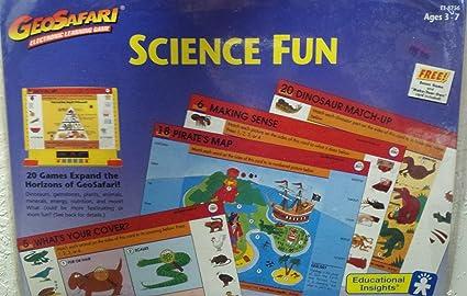 Amazon.com: GeoSafari electrónica tarjeta de juego de ...