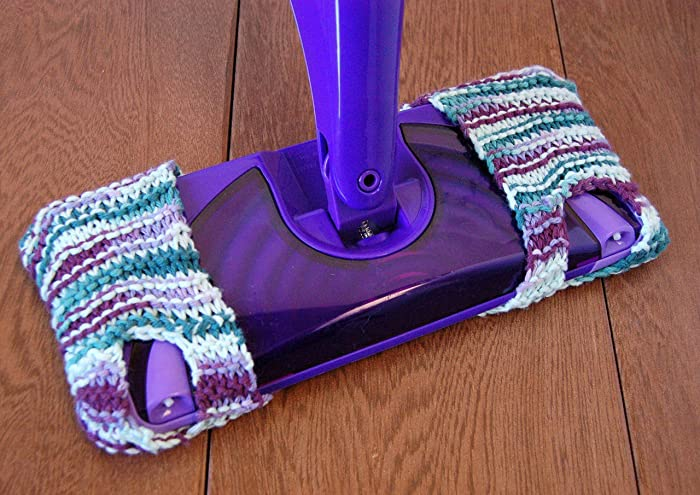Amazoncom Bargain Reusable Knitted Swiffer Wet Jet Pad Swiffer