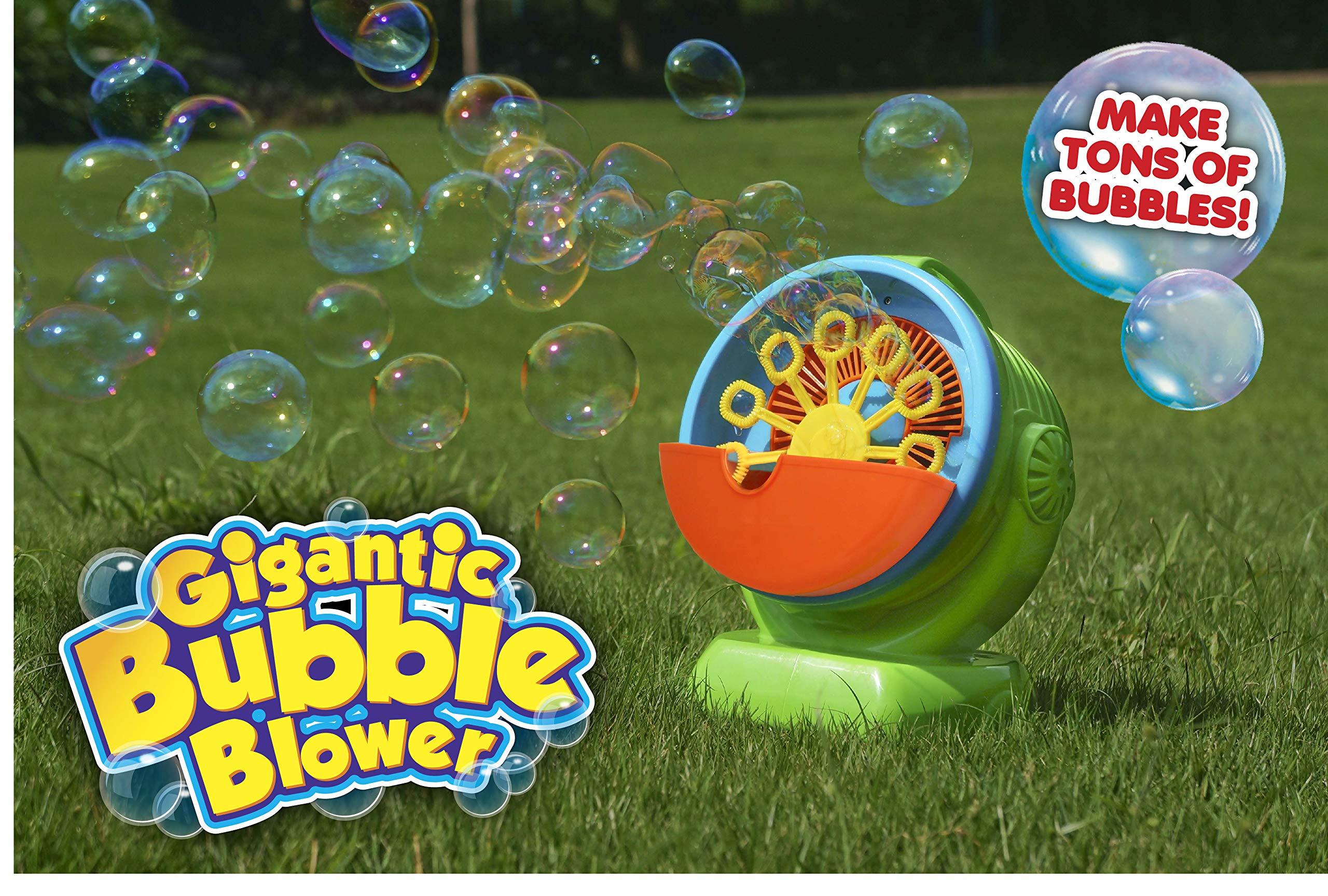 Gigantic Bubble Machine, Automatic Bubble Blower, Motorized, Portable