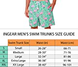 INGEAR Men's Quick Dry Swim Trunks Water Shorts