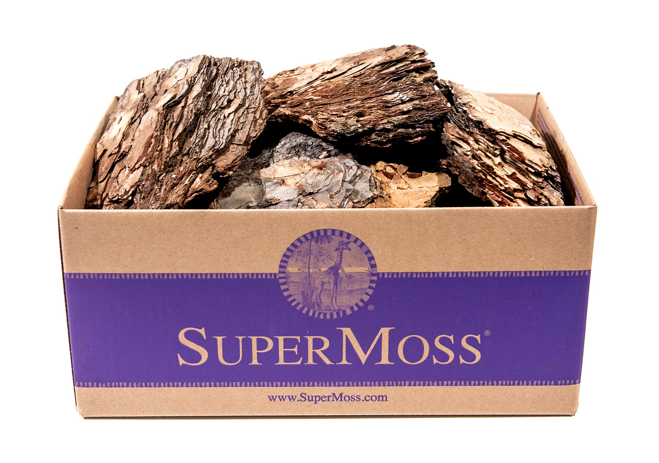SuperMoss (23256) Decorative Bark, Natural, 5lbs (4684 cu. In.) by Super Moss