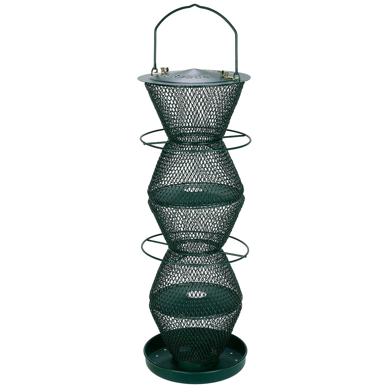 Opus [Perky-Pet] G500332 Mangeoire à oiseaux à 5 niveaux - Vert Forêt