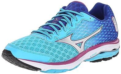 c7552a762d53 Amazon.com | Mizuno Women's Wave Rider 18 Running Shoe | Road Running