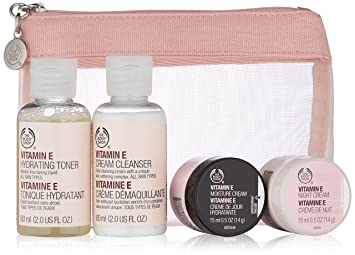 3b9208edda18 The Body Shop Vitamin E Skin Care Starter Kit