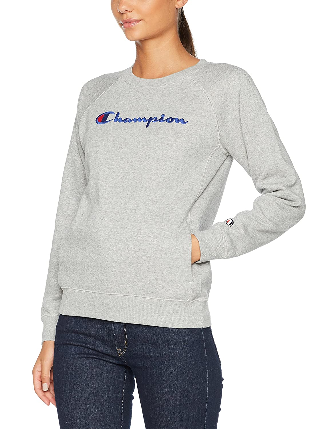 Champion Damen Sweatshirt Crewneck Institutionals 109699_F17