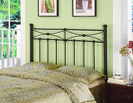 coaster home furnishings metal headboard queenfull rustic metal