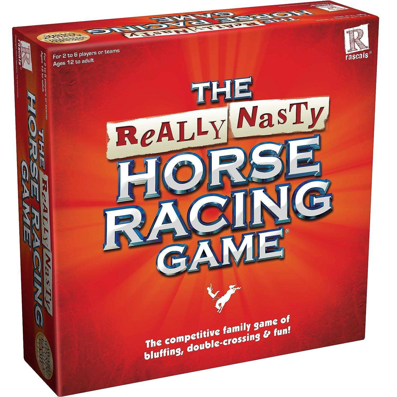 Amazon really nasty horse racing game toys games falaconquin