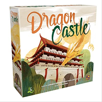 CMON Dragon Castle, Board Game: Toys & Games
