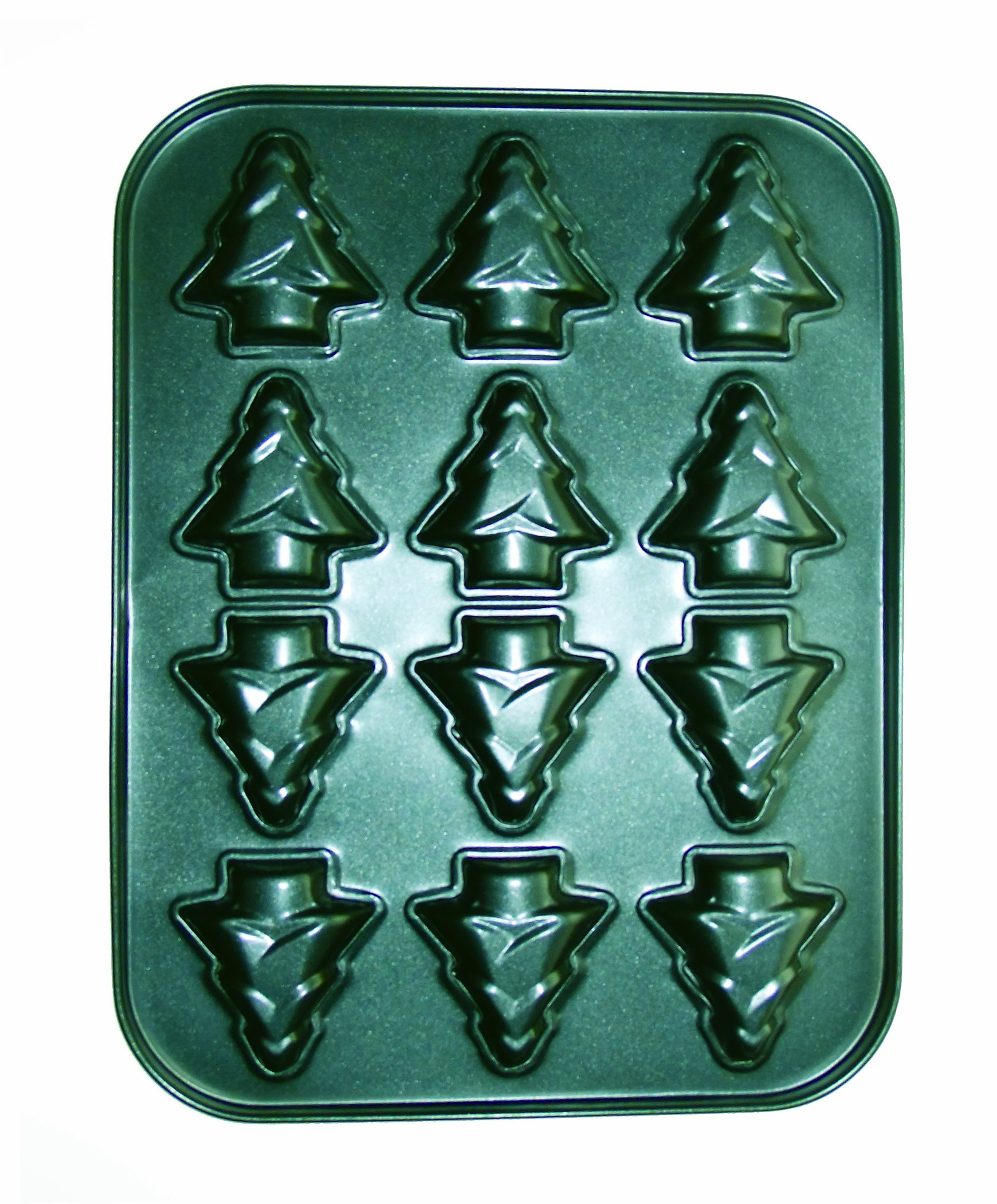 Eddingtons Christmas Tree Muffin Pan
