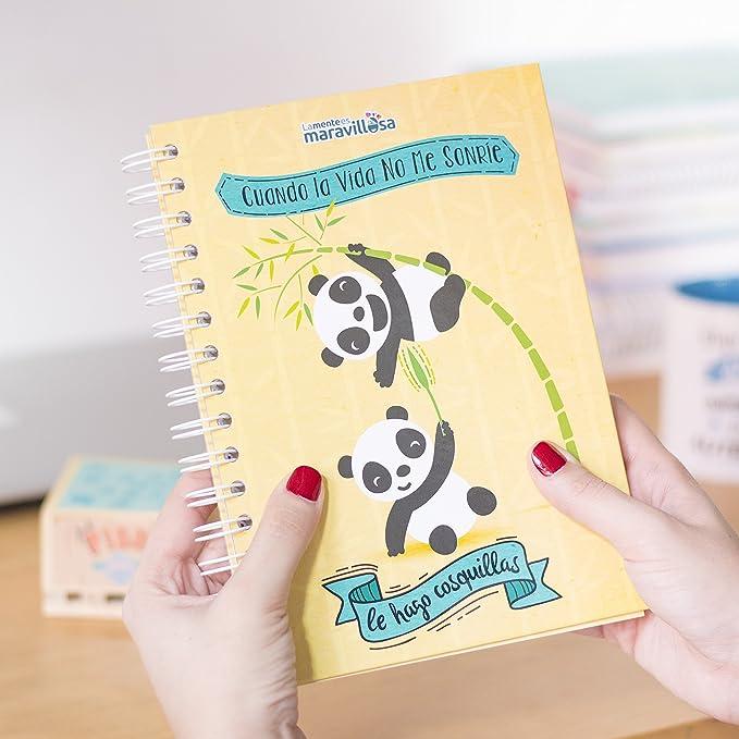 La mente es maravillosa -Cuaderno A5- Regalo para amiga con dibujos - OSITOS-ESP: Amazon.es: Oficina y papelería