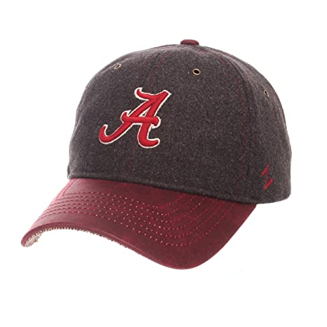 new product 4a55f 365f5 ZHATS NCAA Alabama Crimson Tide Adult Men Alum Heritage Collection Hat,  Adjustable, Heather Gray