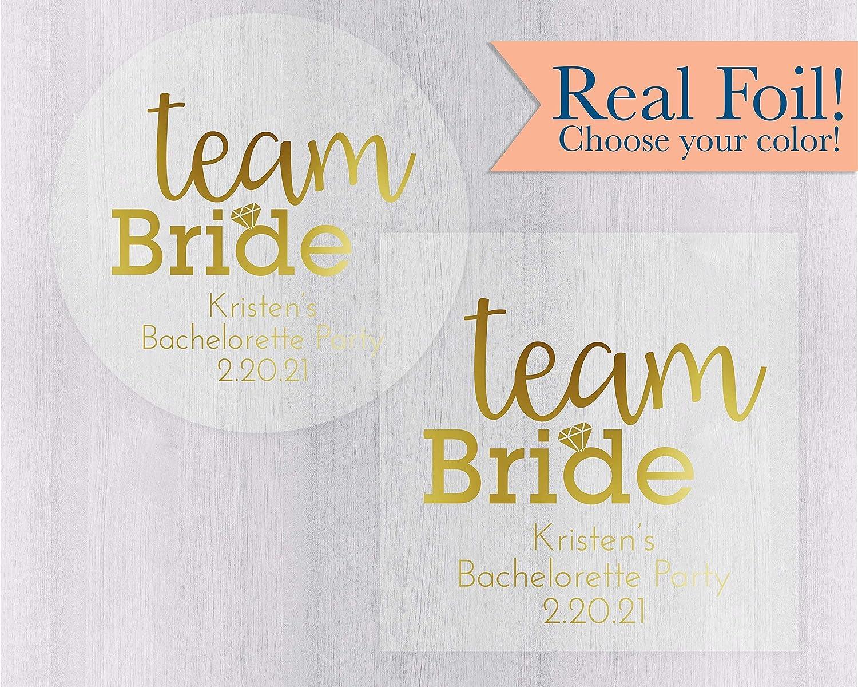 Custom Real Gold Foil State Print for Kristen