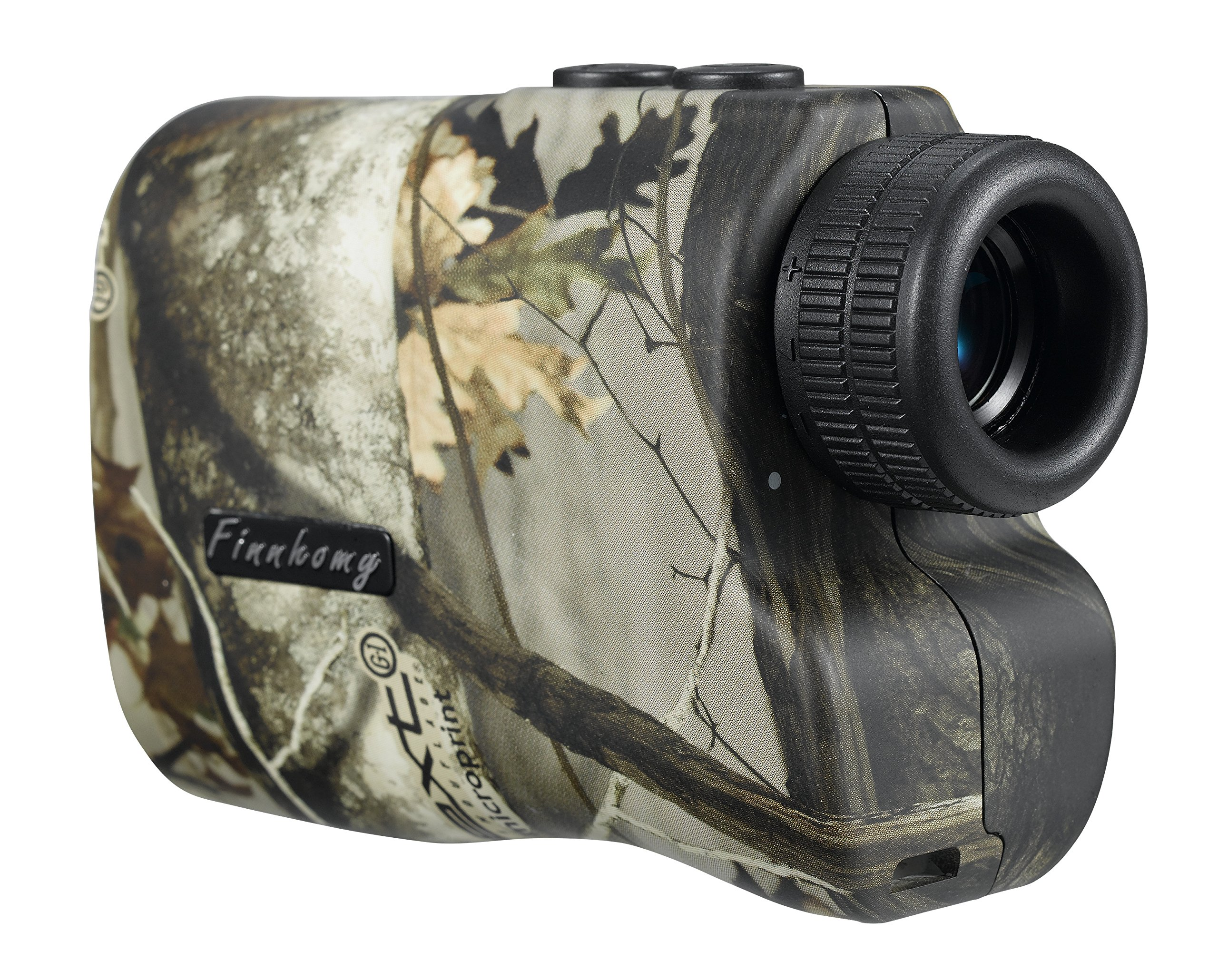 Finnhomy 6 x 25mm Laser Binocular Rangefinder Distance Range Finder Speed Distance Measurement Scope 600 Yards Outdoor Activity Hunting Golf Racing Climbing Navigation Forestry Waterproof Free Battery by Finnhomy (Image #2)