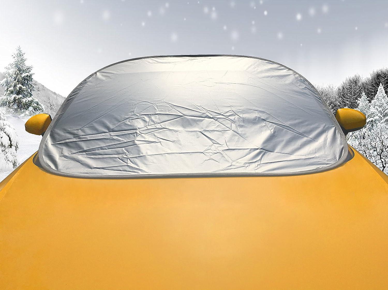 139 x 103 cm Hojas Ca/ídas Standard Size Bolsa Incorporada Lykus Cubierta de Parabrisaas de Auto Cubierta de Nieve Protector contra la Nieve Guanos Polvos Parasol de Coche Instalaci/ón R/ápida Plegable Dentro de Cinco Segundos