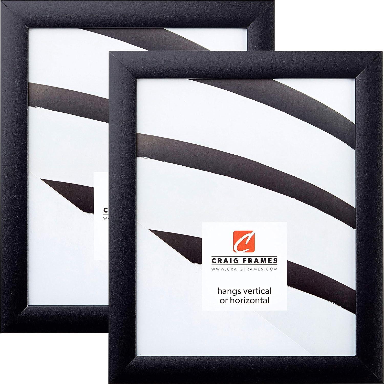 Amazoncom Craig Frames 1wb3bk 12 X 36 Inch Picture Frame Black