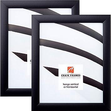 Amazoncom Craig Frames 1wb3bk 20 X 27 Inch Picture Frame Black