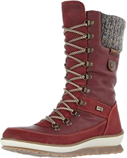 Womens R4370 Snow Boots, Blue, 4 UK Remonte