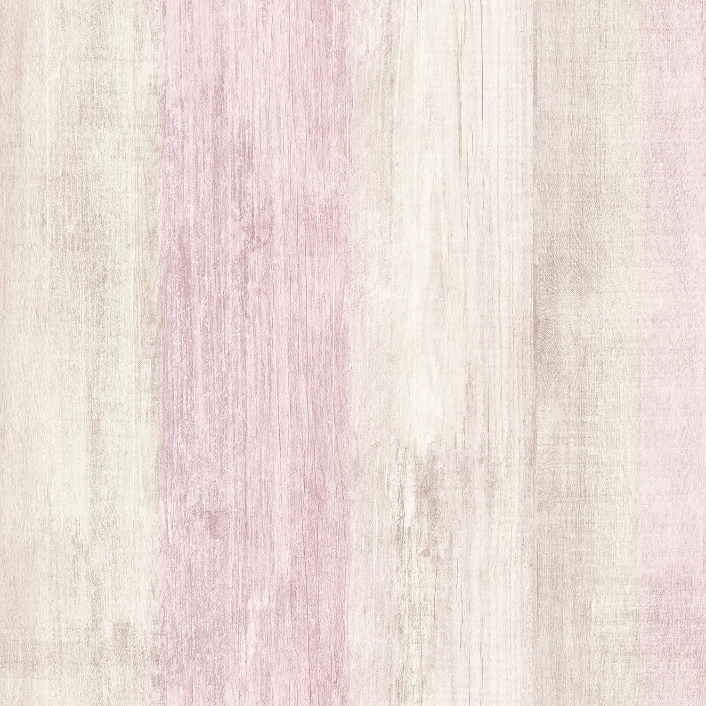 Papel pintado TNT color beige DansLemur 2051-5 textura madera