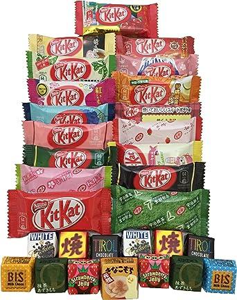 KITKAT japonés chocolate surtidos 30 pz kit kat & tirol sabores ...