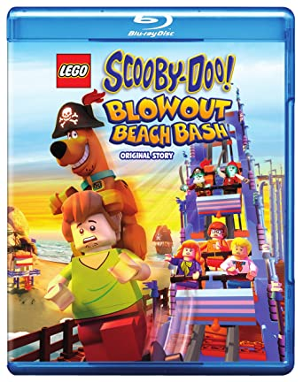 Amazon.com: LEGO Scooby-Doo! Blowout Beach Bash (BD) [Blu-ray ...