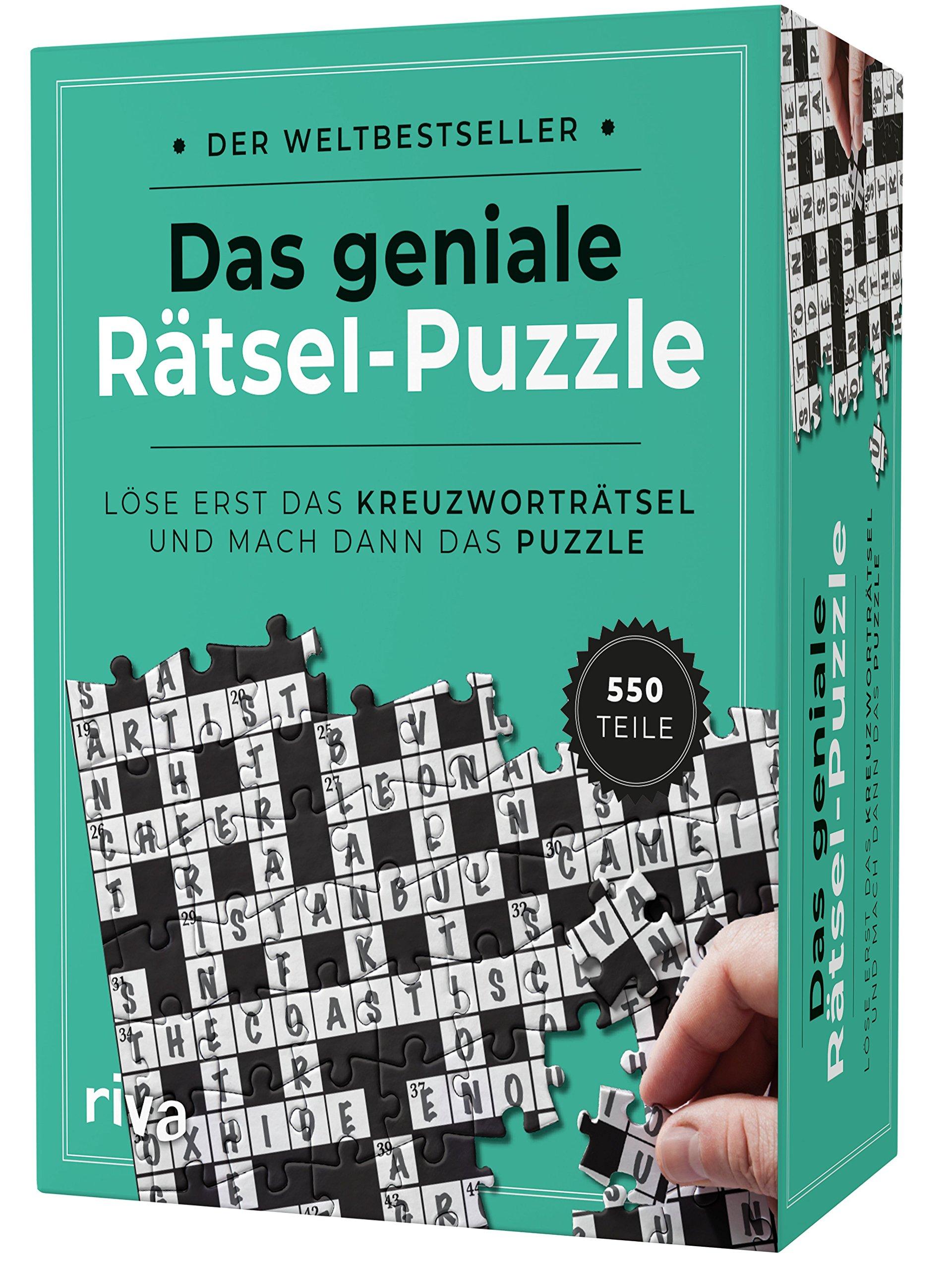 Das Geniale Rätsel Puzzle Löse Erst Das Kreuzworträtsel Und Mach Dann Das Puzzle