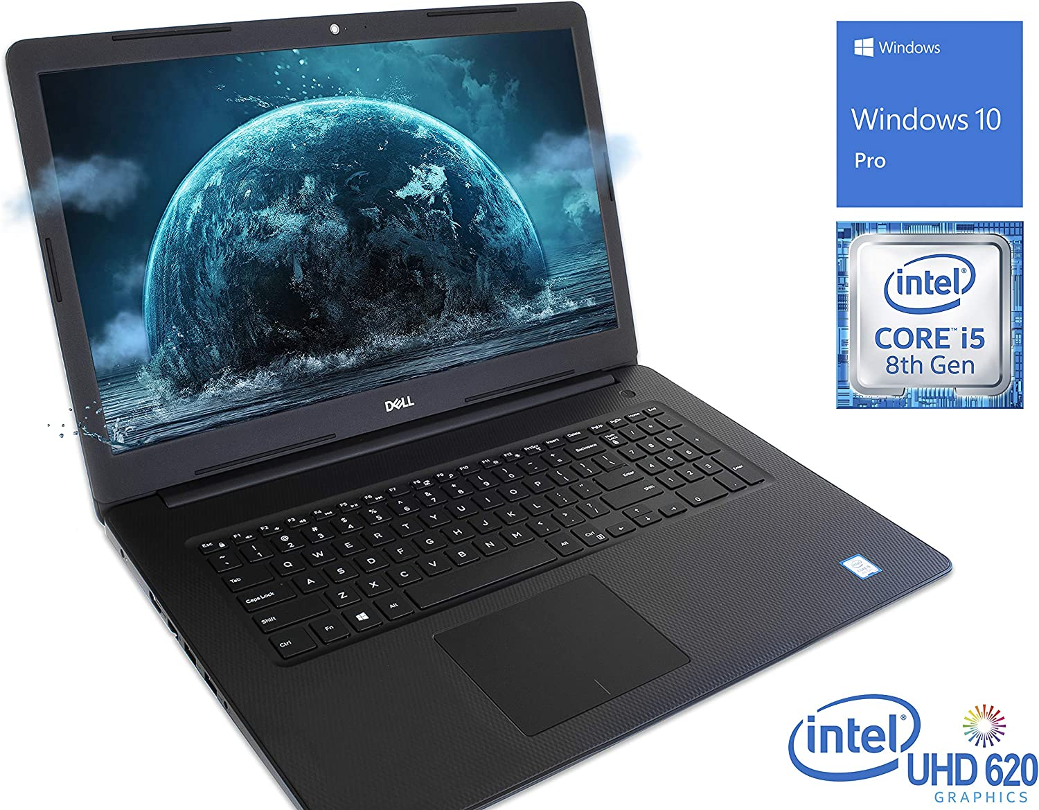 "Dell Inspiron 3583 (i3583-5763BLK) Laptop, 15.6"" HD Touch Display, Intel Core i5-8265U Upto 3.90GHz, 8GB RAM, 256GB NVMe SSD, HDMI, Card Reader, Wi-Fi, Bluetooth, Windows 10 Home S"