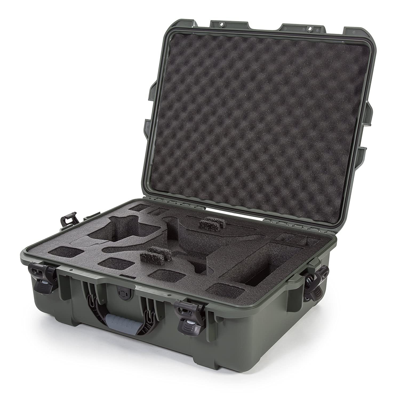 Nanuk 945 Waterproof Hard Drone Case with Custom Foam Insert for DJI Phantom 4/ Phantom 4 Pro (Pro+) / Advanced (Advanced+) & Phantom 3 - Orange 945-DJI43