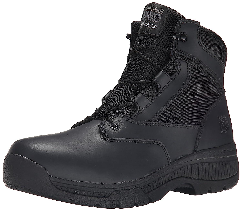 Timberland PRO メンズ Black Smooth Leather Ballistic Nylon 8 2E US 8 2E USBlack Smooth Leather Ballistic Nylon B00RKM8882