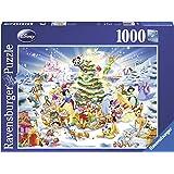 Ravensburger - 19287 - Puzzle Classique - Noël Avec Disney - 1000 Pièces