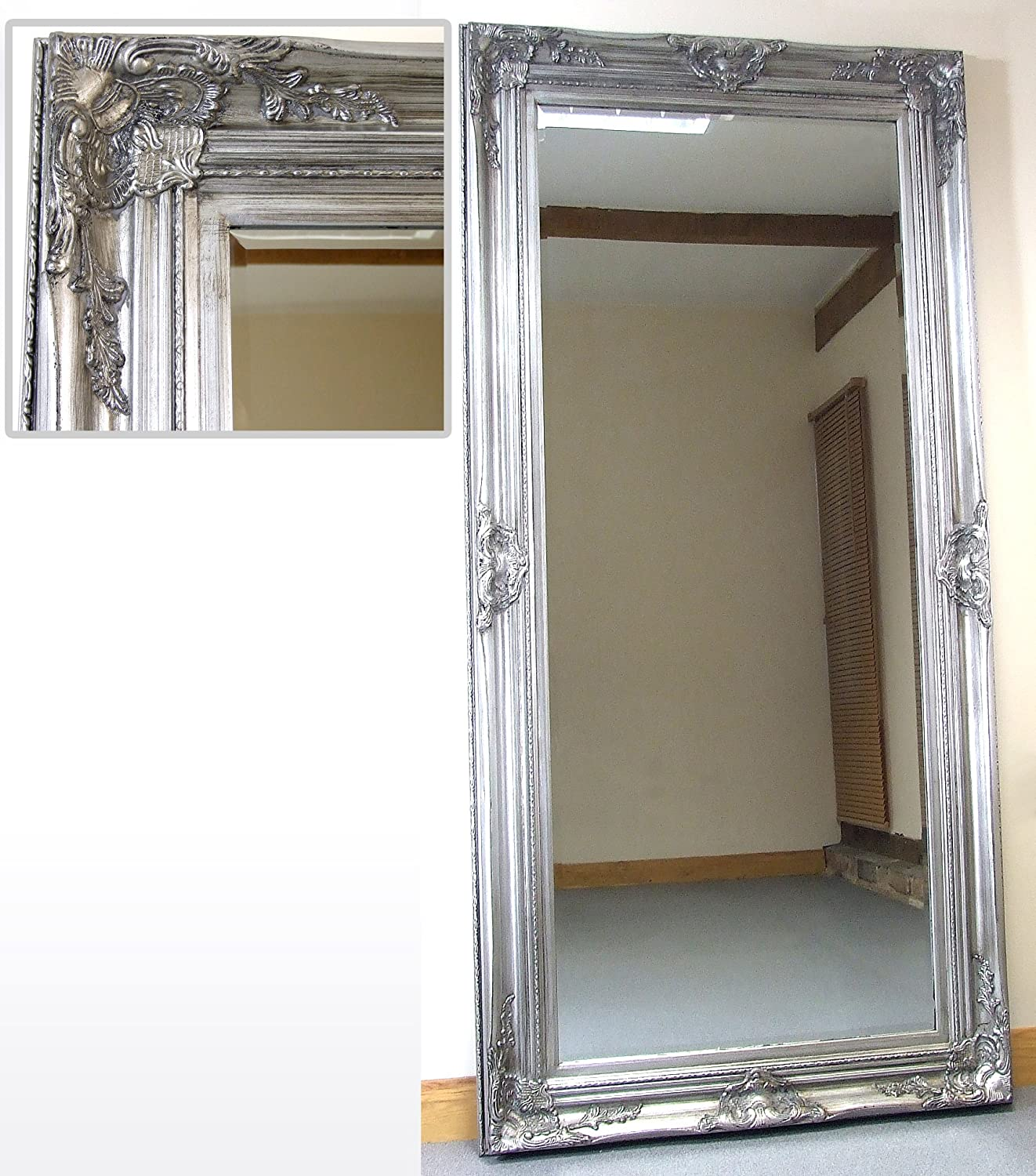 home large free decor mirror standing full beveled ebay mirrors itm for length floor wall