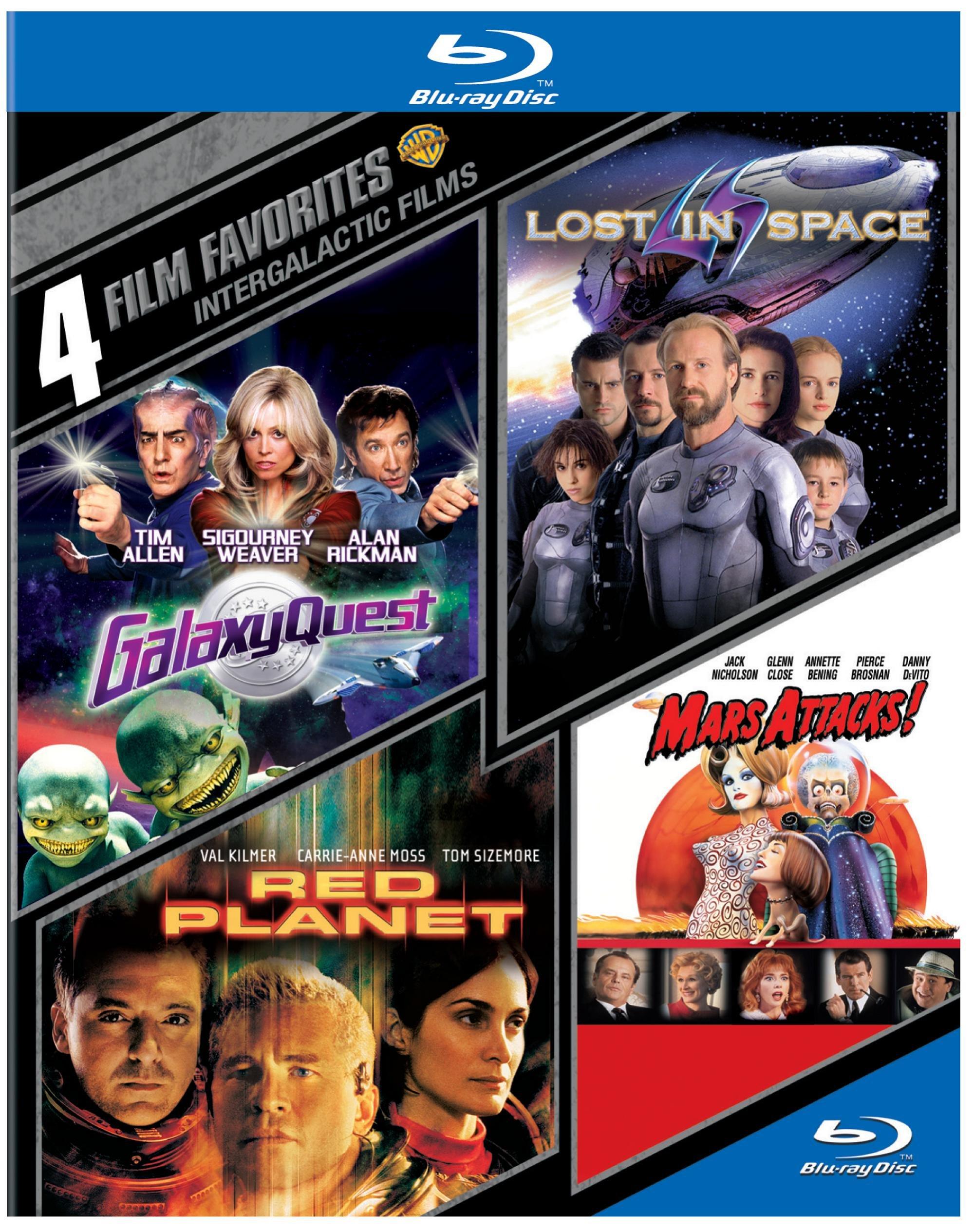 4 Film Favorites: Intergalactic Films (BD)(4FF) [Blu-ray]